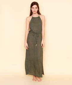 Long dress khaki.