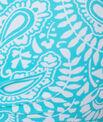 Haut de maillot de bain magic up® imprimé tour de cou