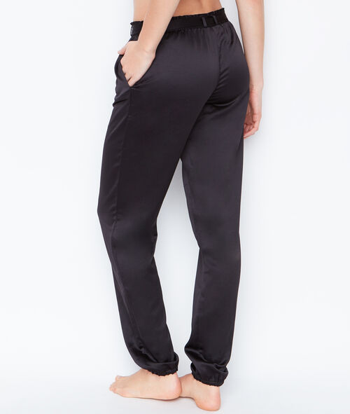 SATINE PYJAMA PANTS;${refinementColor}