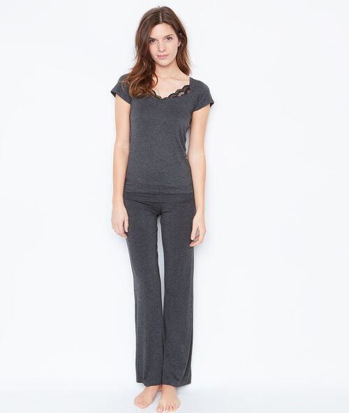 Viscose pyjama pants;${refinementColor}