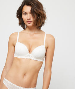 Soutien-gorge n°1 - magic up ecru.