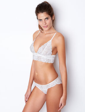 Lace knickers white.