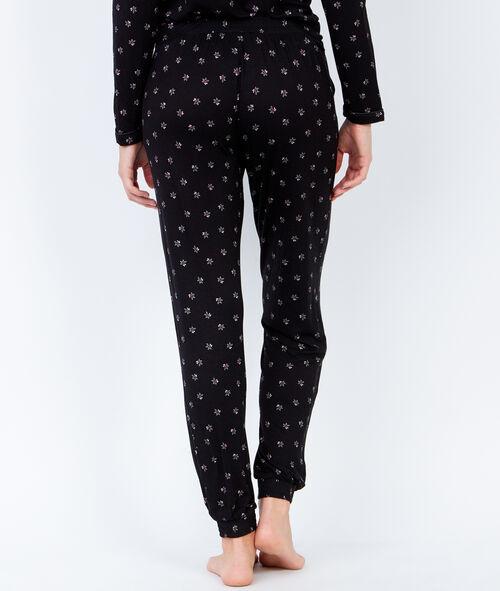 Printed pyjama pants;${refinementColor}