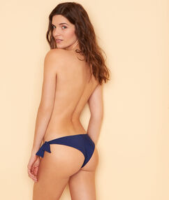 Braguita bikini brasileña  azul marino.