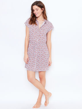 Printed nightdress pink.
