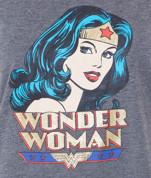WONDER WOMAN PYJAMA OBERTEILE