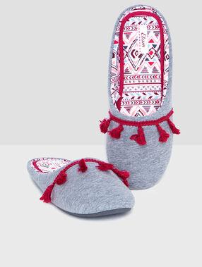 Esmiralda flip flop grey.