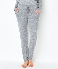 Pyjamahosen grau.