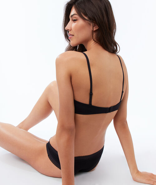 Bandeau micro push up, bretelles amovibles;${refinementColor}
