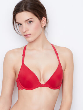 Soutien-gorge n°1 - magic up, dos nageur rouge.