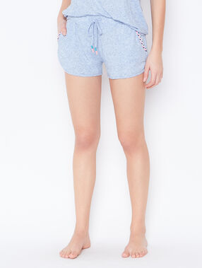 Pyjamashort blue.