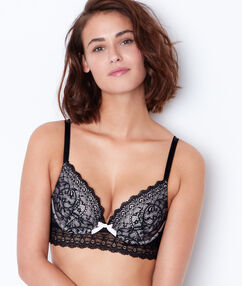 Magic up bra black/white.
