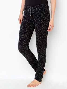 Homewear pants black.