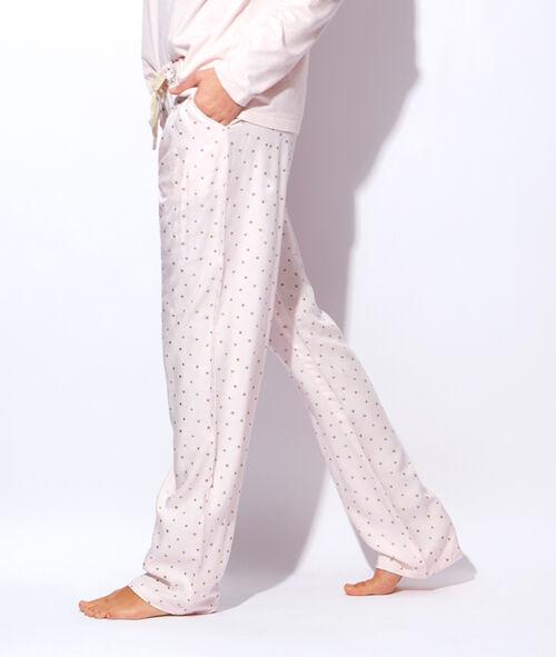 Pantalon imprimé étoiles