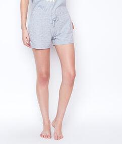 Pantalón corto estampado c.gris.