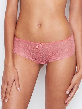 Lace shorts pink.