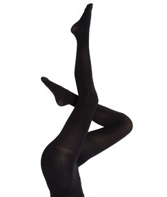 Opaque and sculpting tights, 60d noir.