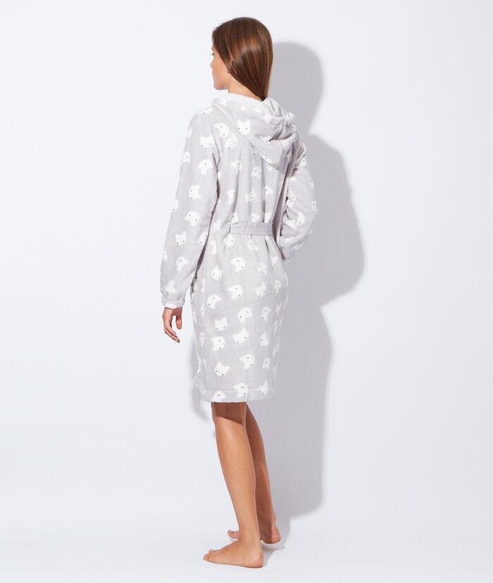 robe de chambre polaire femme etam. Black Bedroom Furniture Sets. Home Design Ideas
