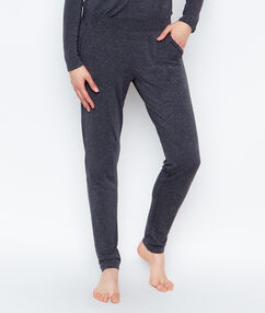 Pantalón tipo jogging antracita.