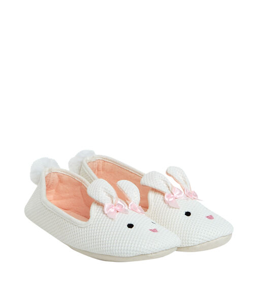 Ballerines chaussons lapin