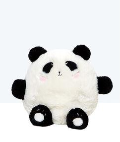 Maskotka-schowek na piżamę panda noir / blanc.
