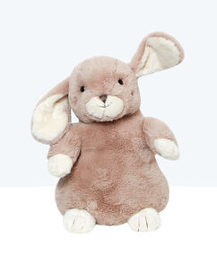 Maskotka-schowek na piżamę królik beige.