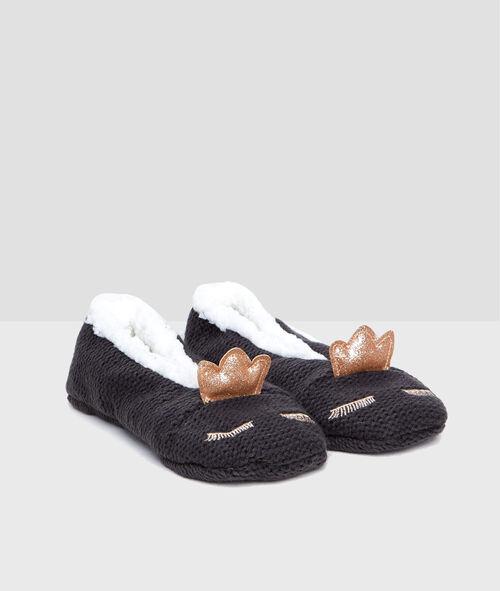 Chaussettes de maison fourrées