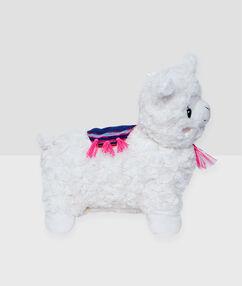 Peluche oveja guarda-pijama crudo.