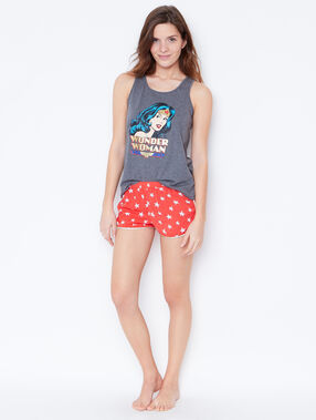 Wonder woman pyjashorts orange.