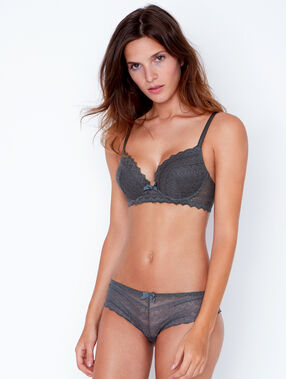 Soutien-gorge n°1 - magic up kaki.