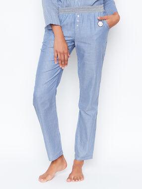 Pyjama pants blue.