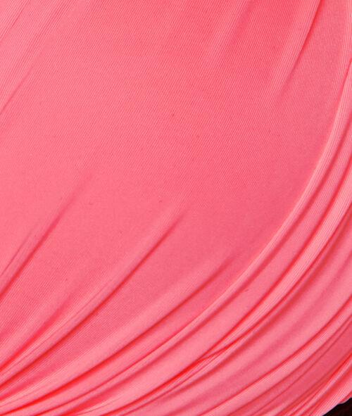 Haut de maillot de bain triangle drapé avec bretelle;${refinementColor}