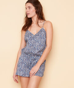 Playsuit blau.
