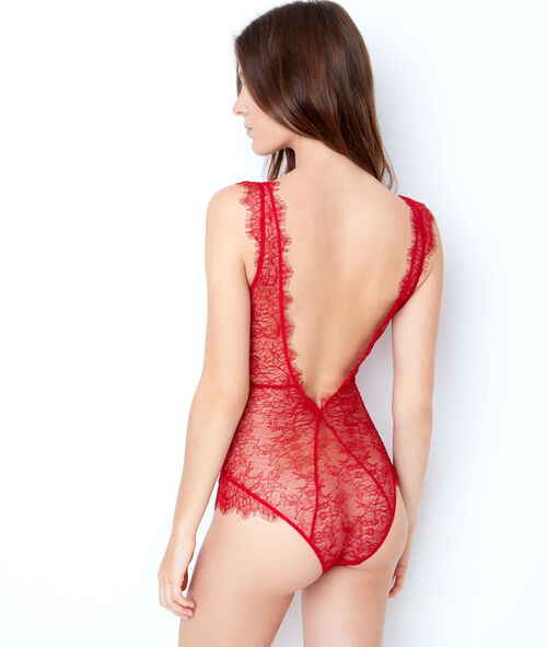 Lace bodysuit;${refinementColor}