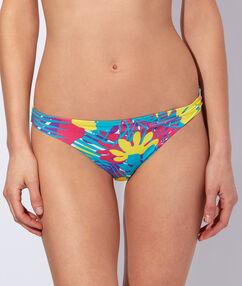 Bikini imprimé multicolore.