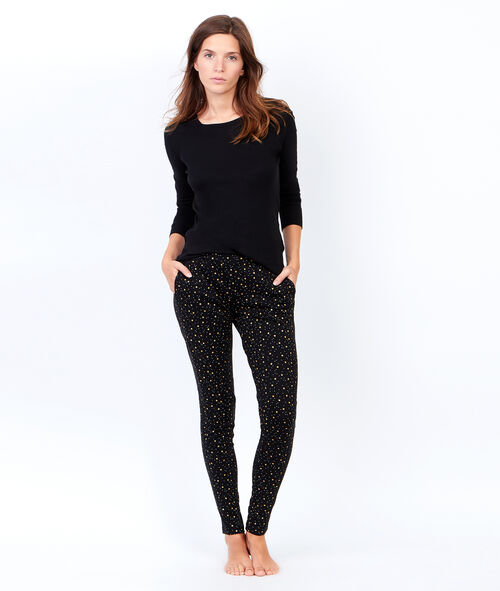 Printed pant;${refinementColor}