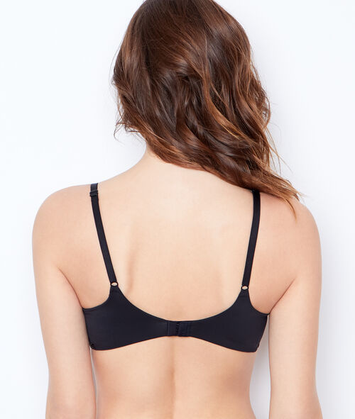 Soutien-gorge triangle, armatures ultra souples;${refinementColor}