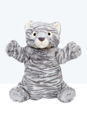 Peluche pijama de tigre c. gris.
