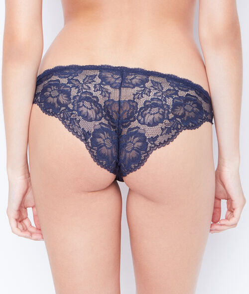 LACE AND MICROFIBER BRIEF;${refinementColor}