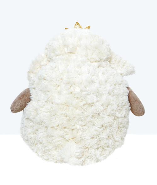 Range pyjama peluche mouton, détail couronne à paillettes;${refinementColor}