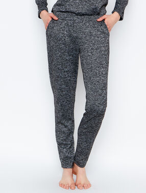Pantalon anthracite.
