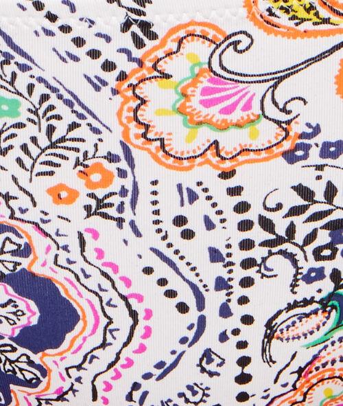 Culotte de bain imprimé multicolore bohême;${refinementColor}
