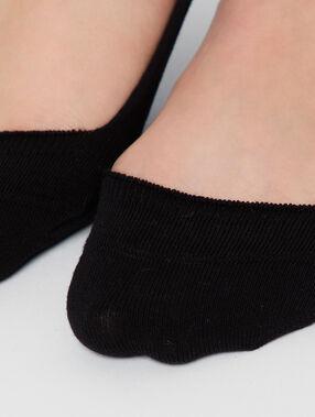 2 paires de protège pieds noir.