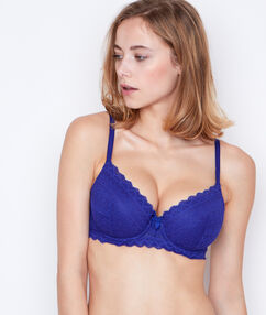 Soutien-gorge n°4 - ampliforme light bleu royal.