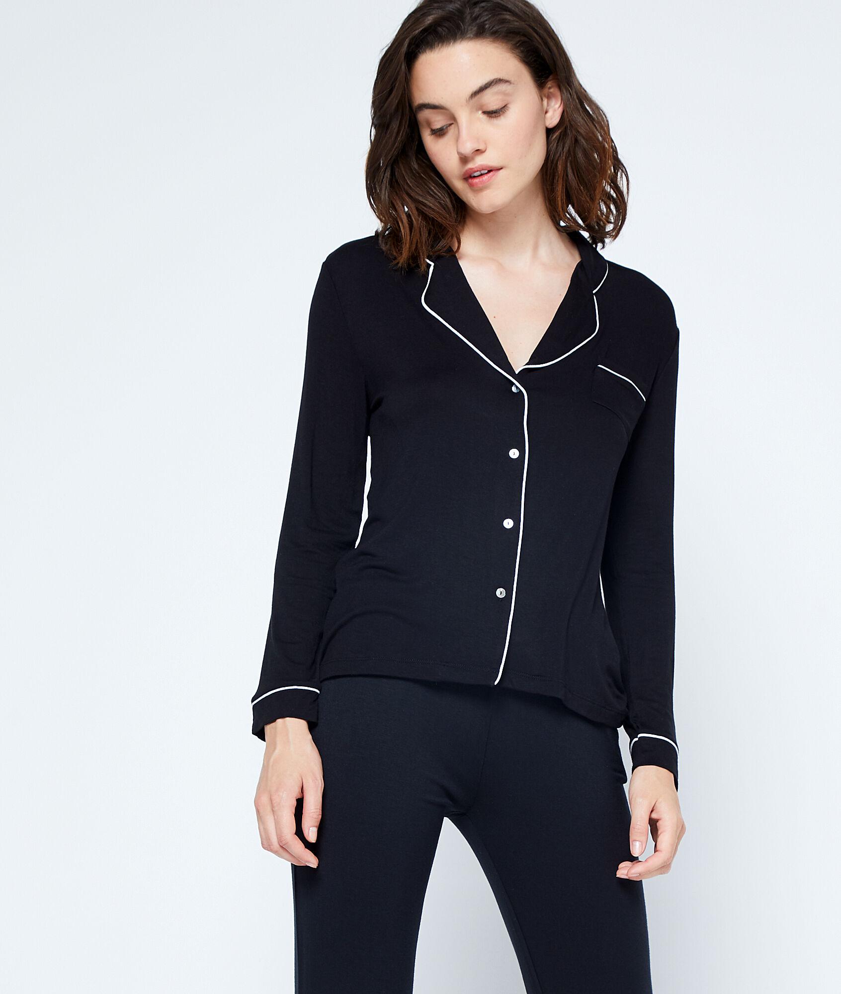 waelle chemise pyjama bicolore etam. Black Bedroom Furniture Sets. Home Design Ideas