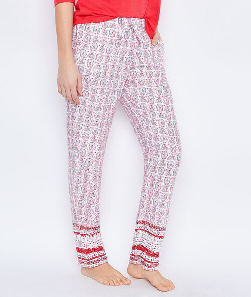 PRINTED PYJAMAPANTS;${refinementColor}