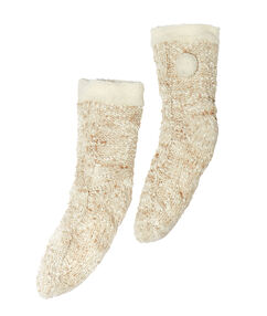 Socken beige.
