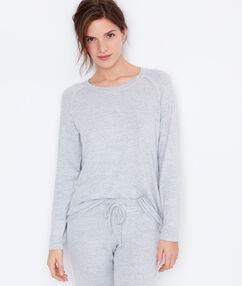 Bluzka z długimi rękawami grey.