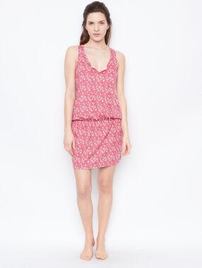 Printed dress pink.