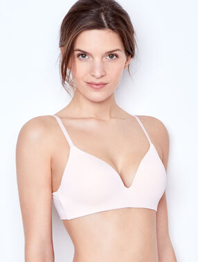 Triangle bra ecru.